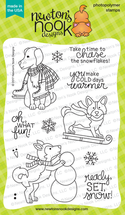 Winter Woofs - Newton's Nook Designs