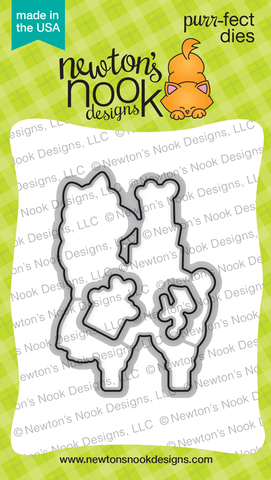 Llama Delivery Die Set - Newton's Nook Designs