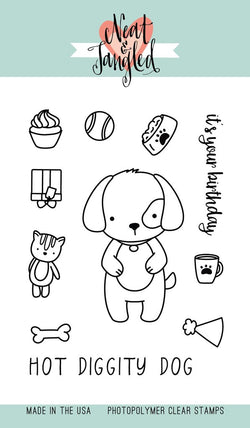 PUPPY'S FAVORITE THINGS Stamps - Neat & Tangled