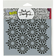 Crafters Workshop Template 6x6 Inch - Circle Of Jewels
