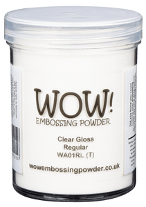 WOW Embossing Powder CLEAR GLOSS Regular Large Jar WA01RL