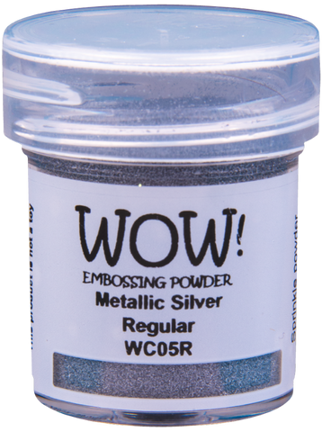 METALLIC SILVER -WOW! EMBOSSING powder
