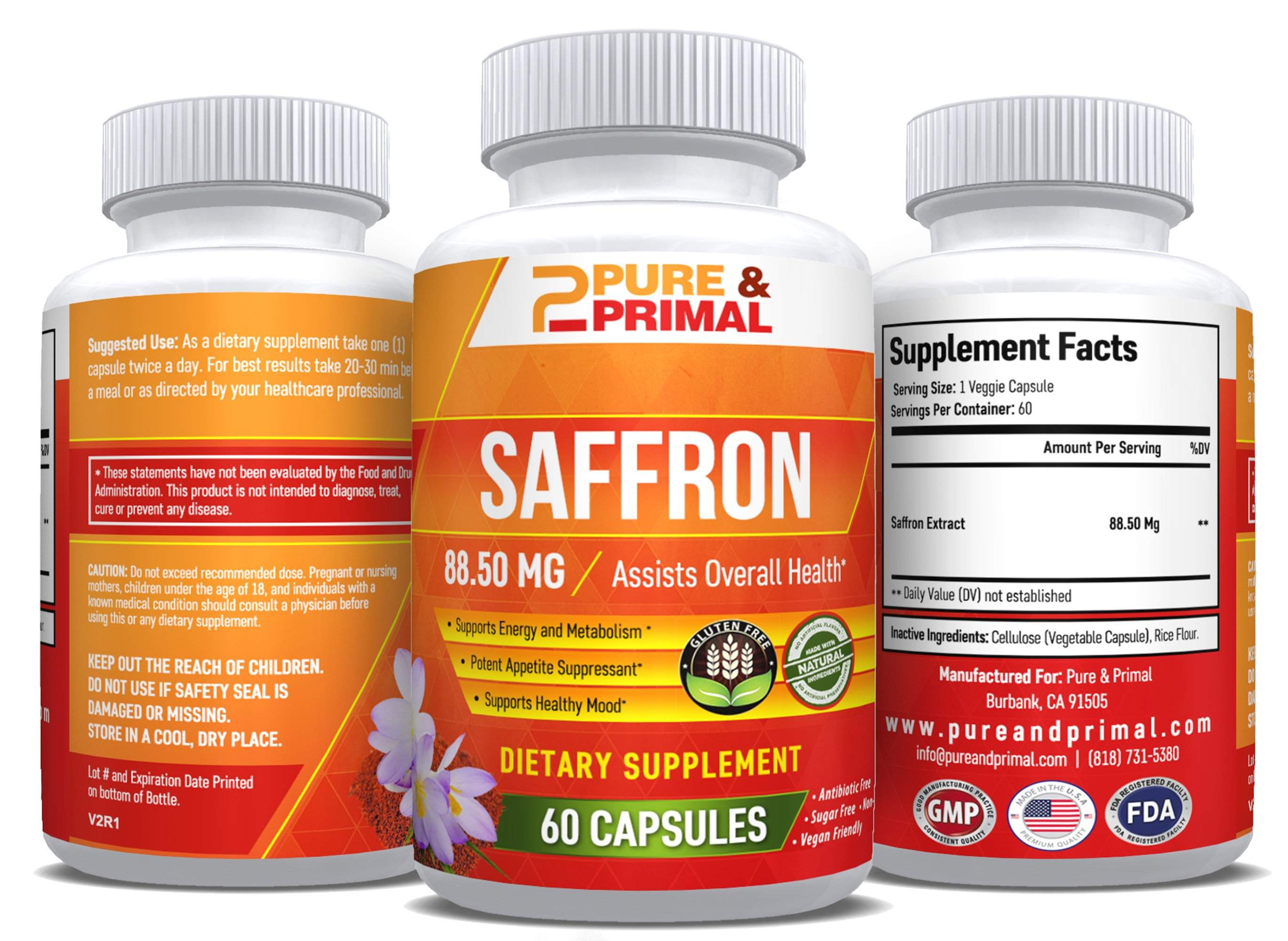 Saffron Pure - Sleep and Mood Booster