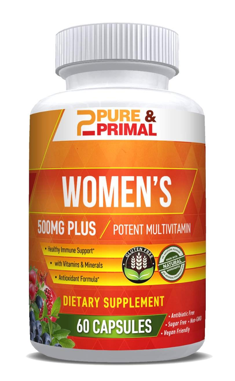 Complete Multivitamin - Packed with Vitamins, Minerals, Antioxidants, and Herbs