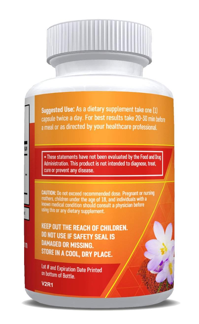 (2 Bottles) - Saffron Pure - Sleep and Mood Booster