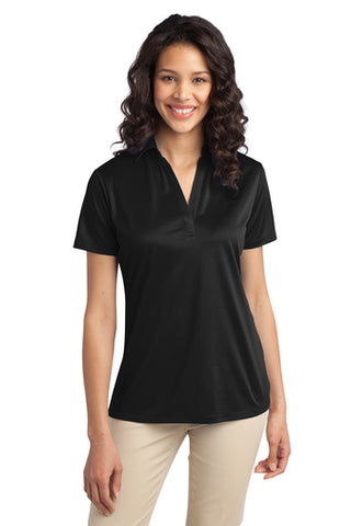 SilkTouch Dri-Fit Performance Polo - Women's Black