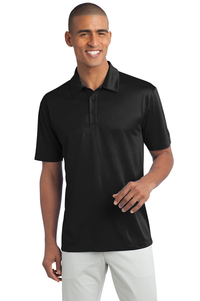 Ilima Men's Black SilkTouch Dri-Fit Performance Polo