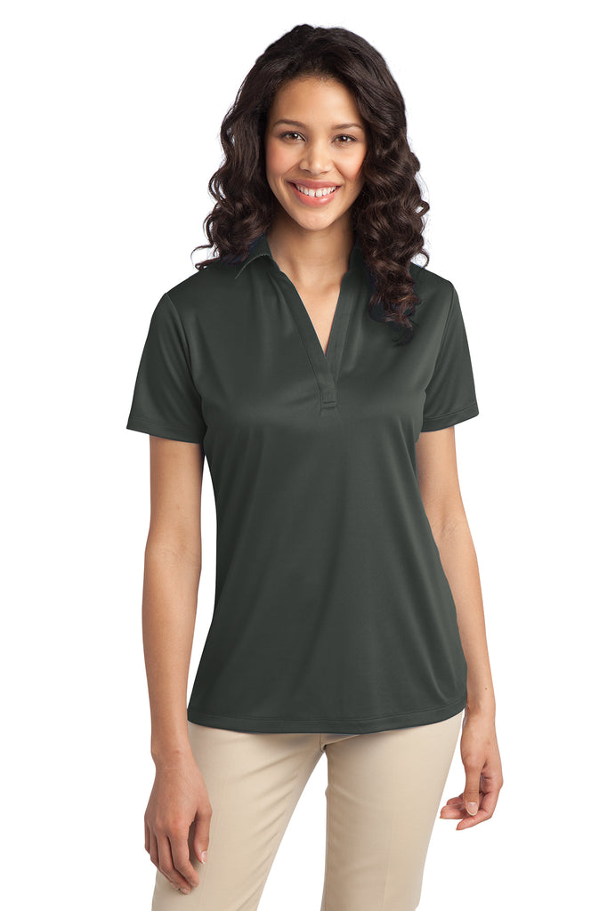 Ilima Ladies Steel Gray SilkTouch Dri-Fit Performance Polo