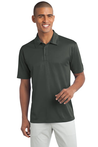 Ilima Men's Steel Gray SilkTouch Dri-Fit Performance Polo