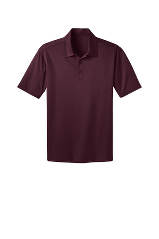Ilima Men's Maroon SilkTouch Dri-Fit Performance Polo