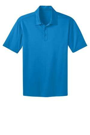 Ilima Men's Brilliant Blue SilkTouch Dri-Fit Performance Polo