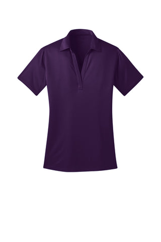 Ilima Ladies Bright Purple SilkTouch Dri-Fit Performance Polo