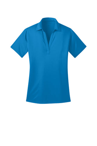 Ilima Ladies Brilliant Blue SilkTouch Dri-Fit Performance Polo