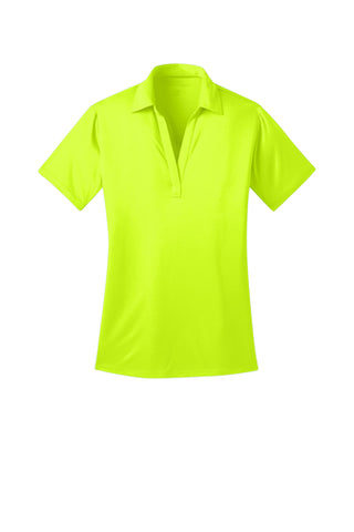 Ilima Ladies Neon Yellow SilkTouch Dri-Fit Performance Polo