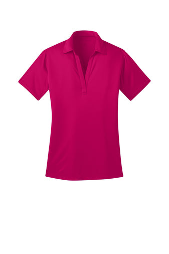 Ilima Ladies Pink Raspberry SilkTouch Dri-Fit Performance Polo