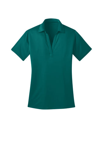 Ilima Ladies Teal SilkTouch Dri-Fit Performance Polo