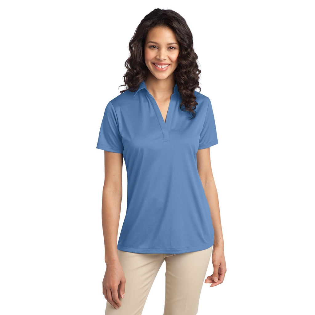 SilkTouch Dri-Fit Performance Polo - Women's Carolina Blue