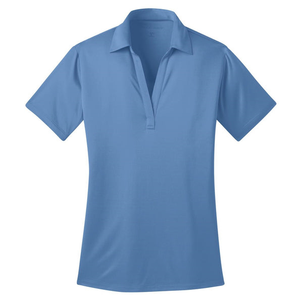 Ilima Ladies Carolina Blue SilkTouch Dri-Fit Performance Polo