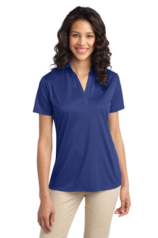 Ilima Ladies Royal Blue SilkTouch Dri-Fit Performance Polo