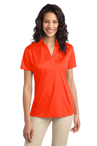 Ilima Ladies Orange SilkTouch Dri-Fit Performance Polo