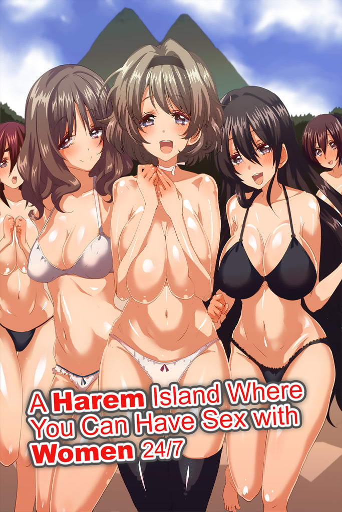 A Harem Island Where You Can Have Sex with Women 24/7