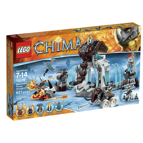 LEGO 70226 - Mammoth's Frozen Stronghold Kit