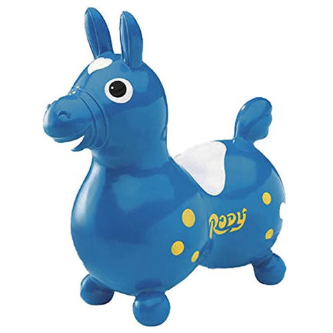 Ledraplastic Rody The Horse Hop and Ride, Blue
