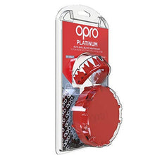 Load image into Gallery viewer, Opro Shield Platinum Mouth Guard - Fangs