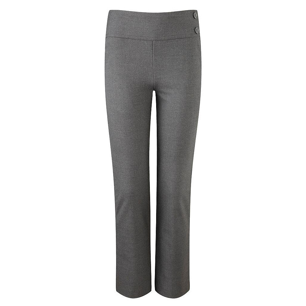 Kirby Junior Girls Grey Trousers by Banner