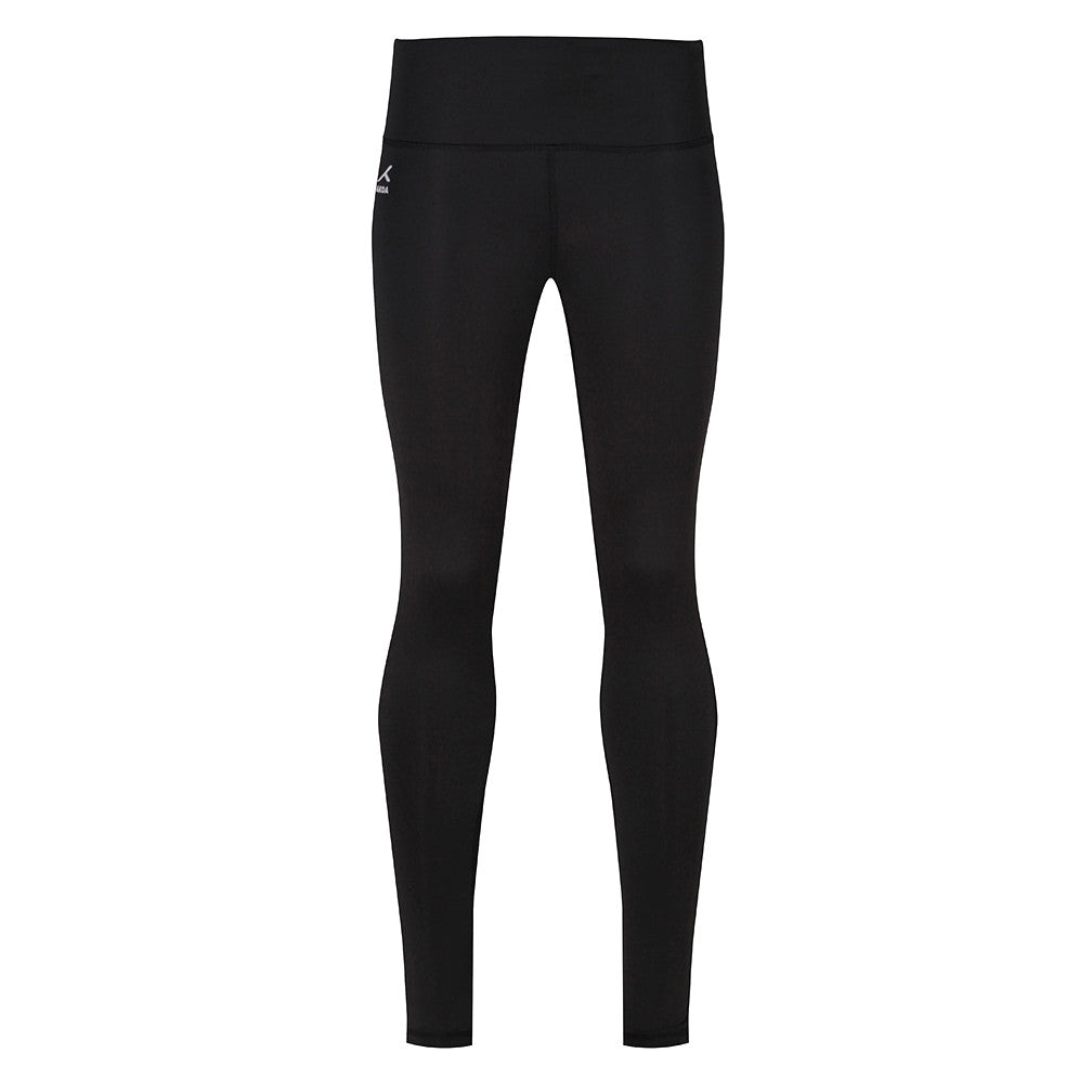 Girls Black Sports Leggings by Akoa