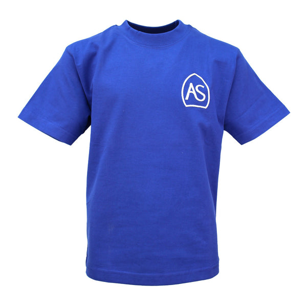 All Saints PE T-Shirt - Royal Blue