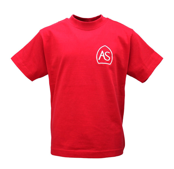 All Saints PE T-Shirt - Red