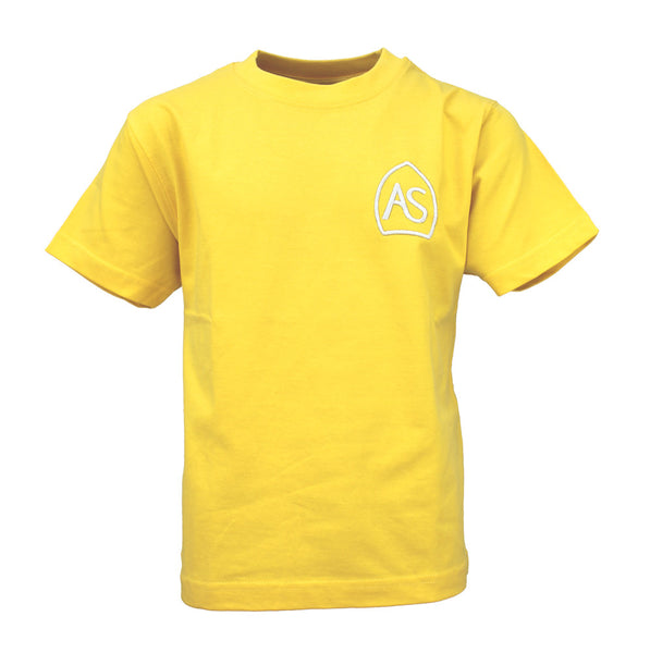 All Saints PE T-Shirt - Yellow