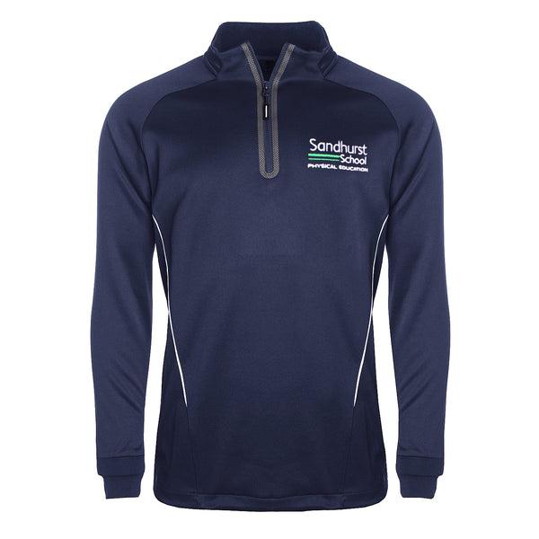 Sandhurst School 1/4 Zip Sports Top