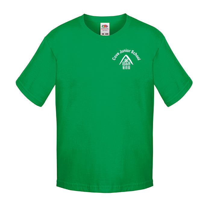 Cove Junior Green House PE T-Shirt Whittle