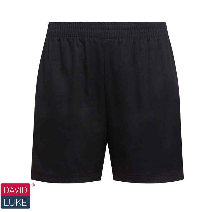 Classic Sport Short (Brushed Poly/Cotton) Black