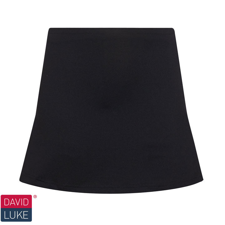Black Technical Skort by David Luke