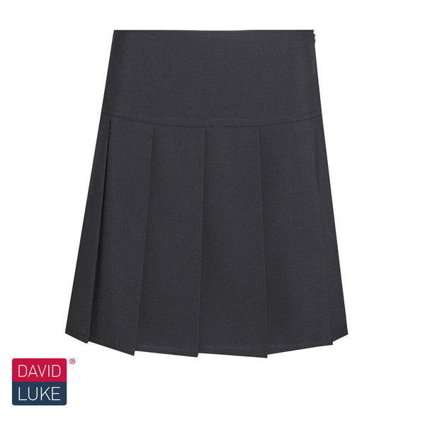 Black Knife Pleat Skirt