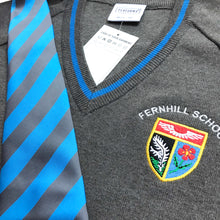 Load image into Gallery viewer, Fernhill Secondary School Tie