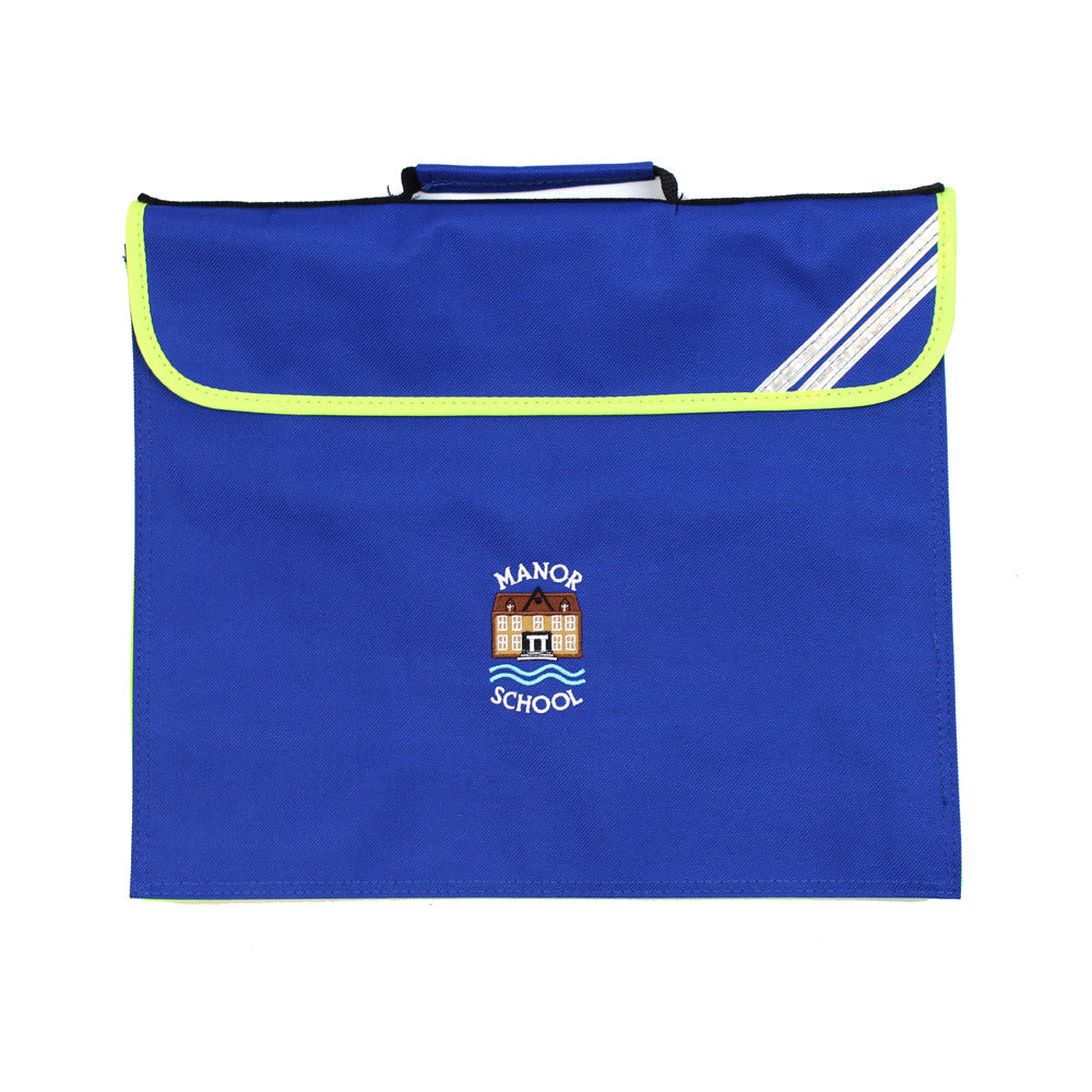 Manor Expandable Book Bag