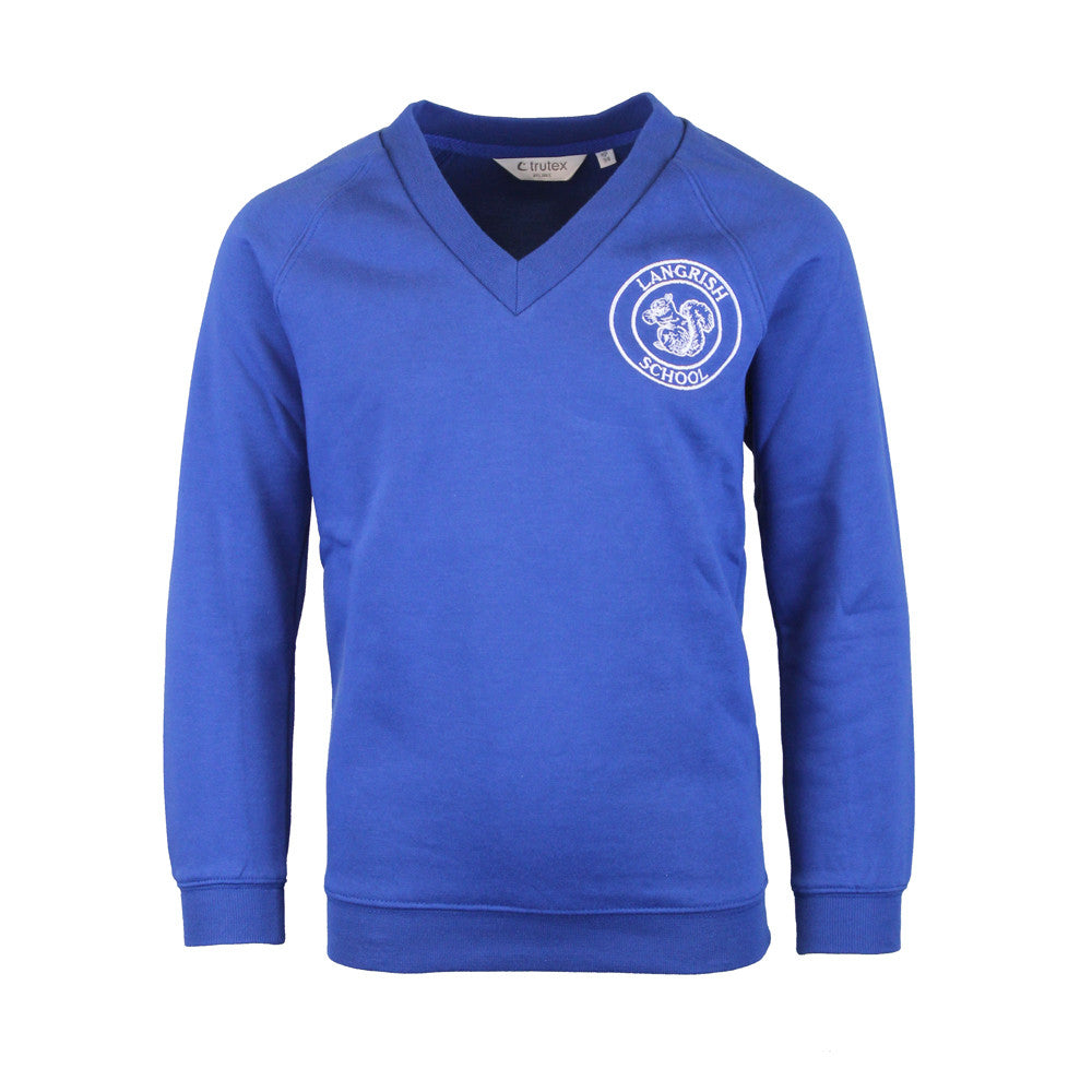 Langrish V Neck Sweatshirt by Trutex