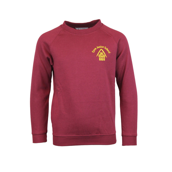 Cove Junior School Sweatshirt by Trutex