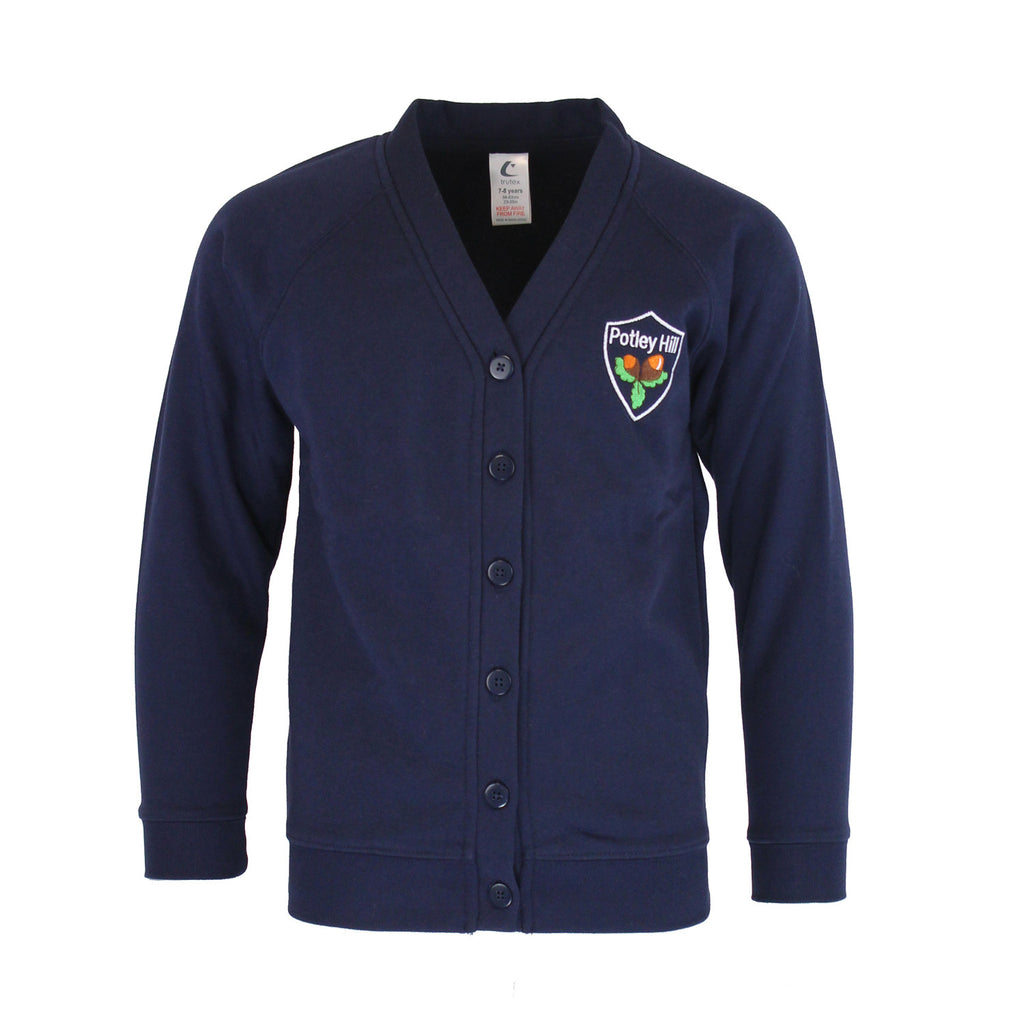 Potley Hill Primary Cardigan by Trutex