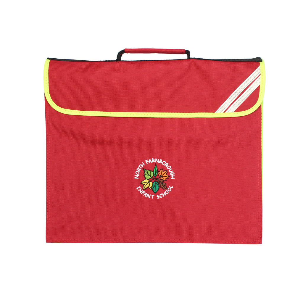 North Farnborough Expandable Book Bag