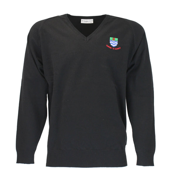 Court Moor Black Pullover