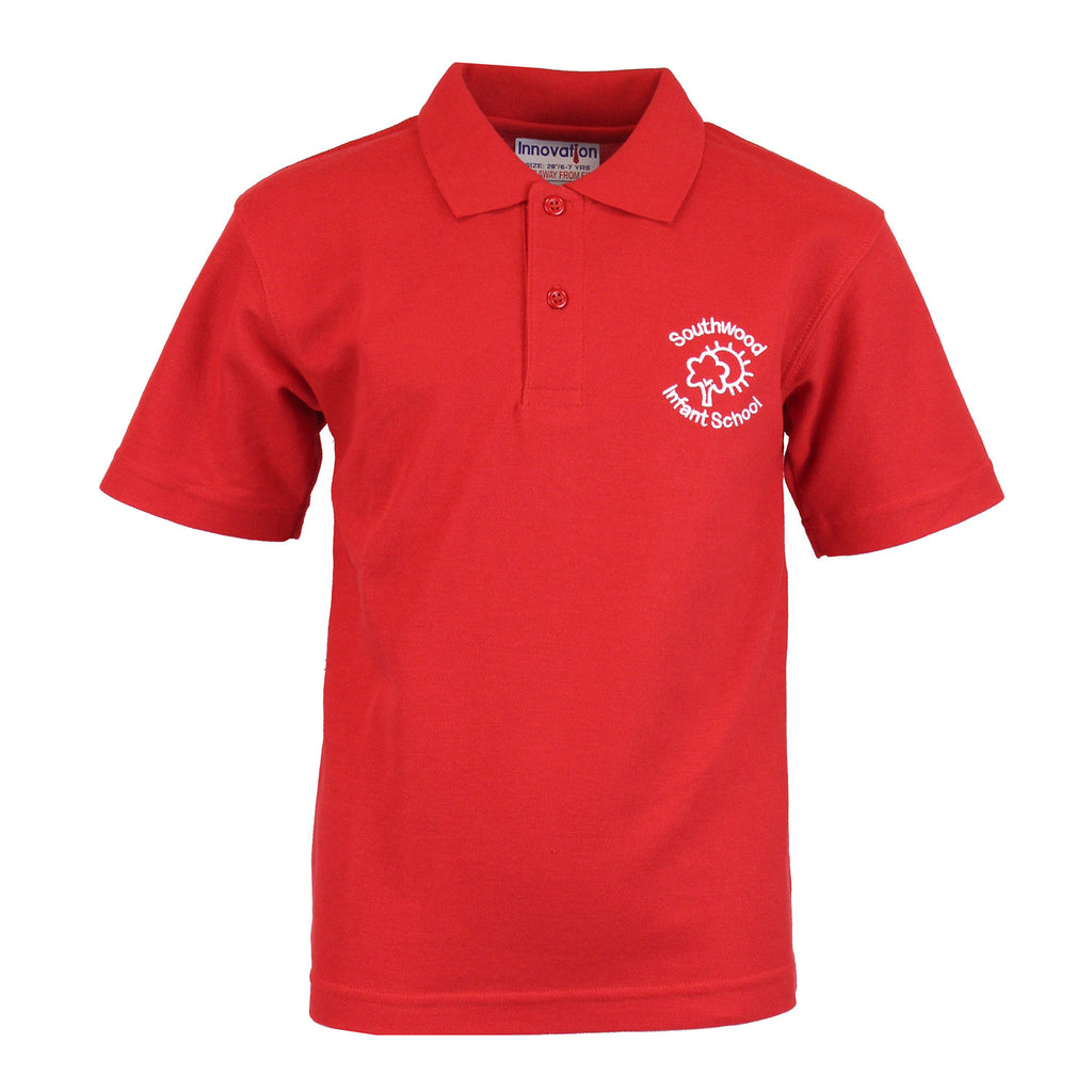 Southwood Red Polo Shirt