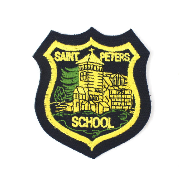 Original Vintage St Peter's, Farnborough, School Badge