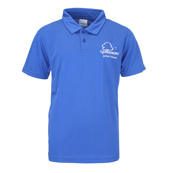 Guillemont Junior School Whittle Blue PE Polo Shirt