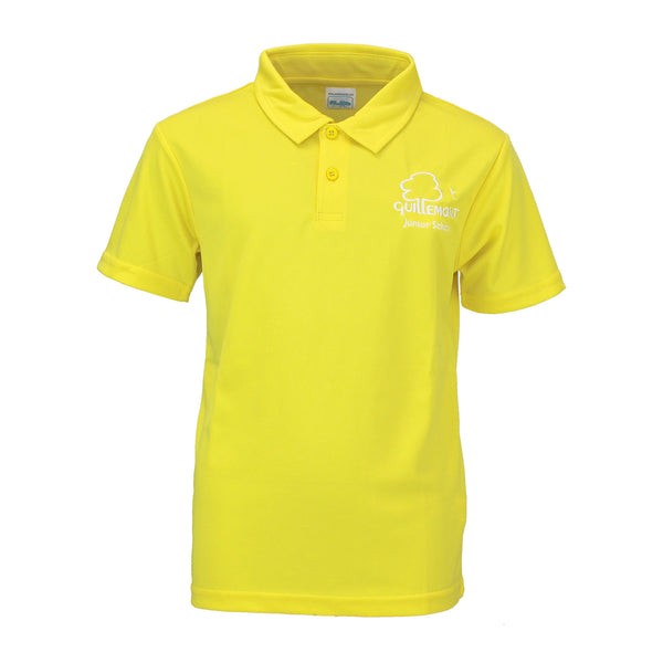 Guillemont Junior School King Yellow PE Polo Shirt