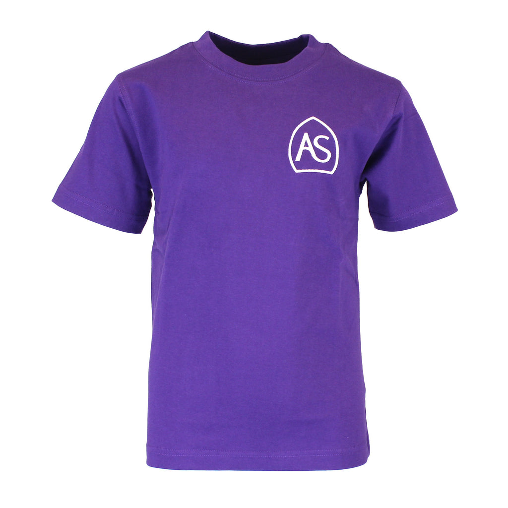 All Saints PE T-Shirt - Purple